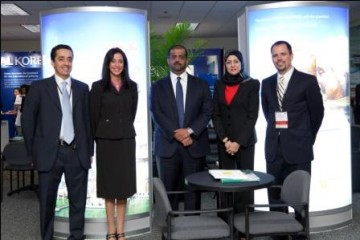 Renee-Marie Stephano with the Dubai Health Authority