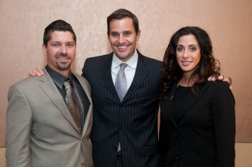 Jonathan Edelheit and Renee Marie Stephano with  Bill Rancic