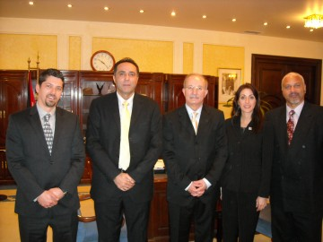 Prime Minister of Jordan - Minister of Health of Jordan - Renee Stephano - Jonathan Edelheit and Alex Piper