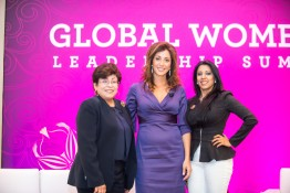 Renee-Marie Stephano with Farzanna Haffizulla of American Medical Women's Association (AMWA) and Elena V. Rios of National Hispanic Medical Association